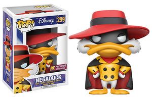 Pop Disney 3.75 Inch Action Figure Darkwing Duck - Negaduck #299 Exclusive