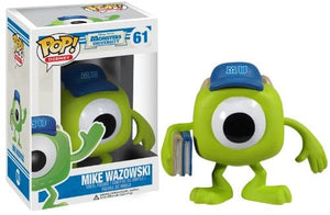 Pop Disney 3.75 Inch Action Figure Monsters University - Mike Wazowski #61