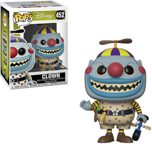 Pop Disney 3.75 Inch Action Figure Nightmare Before Christmas - Clown #452