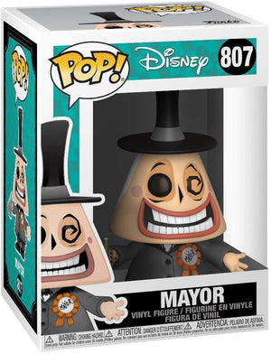 Pop Disney Nightmare Before Christmas 3.75 Inch Action Figure - Mayor #807