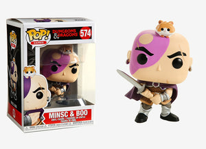 Pop Games 3.75 Inch Action Figure Dungeons & Dragons - Minsc & Boo #574