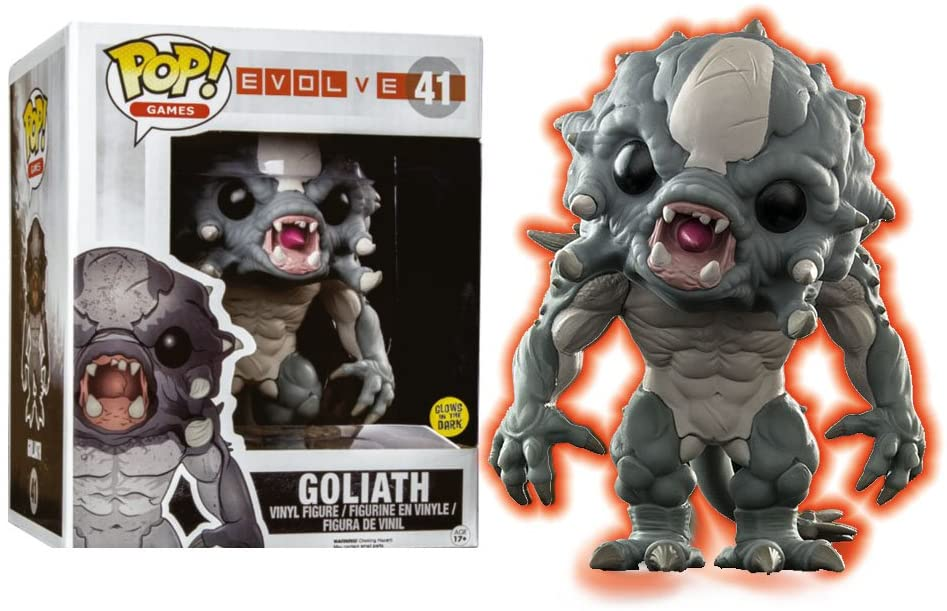 Pop Games Evolve 6 Inch Action Figure - Goliath #41 (Non Mint Packaging)