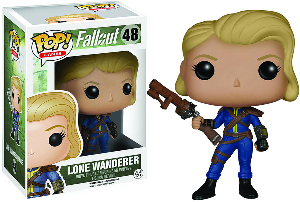 Pop Games Fallout 3.75 Inch Action Figure - Lone Wanderer #48