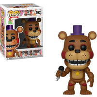 Pop Games 3.75 Inch Action Figure Five Nights at Freddy's - Rockstar Freddy #362