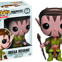 Pop Games Magic The Gathering 3.75 Inch Action Figure - Nissa Revane #04