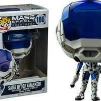 Pop Games 3.75 Inch Action Figure Mass Effect - Sara Ryder Masked #186 Exclusive