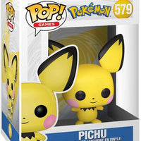 Pop Games 3.75 Inch Action Figure Pokemon - Pichu #579