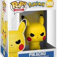 Pop Games Pokemon 3.75 Inch Action Figure - Grumpy Pikachu #598