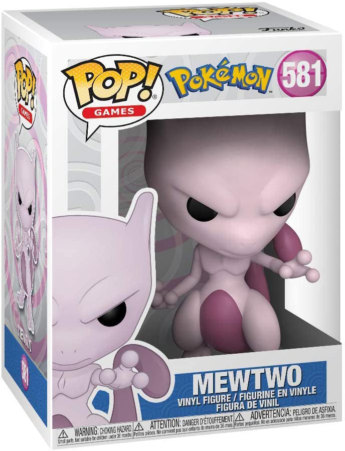 Pop Games Pokemon 3.75 Inch Action Figure - Mewtwo #581