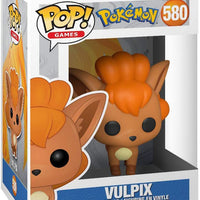 Pop Games Pokemon 3.75 Inch Action Figure - Vulpix #580
