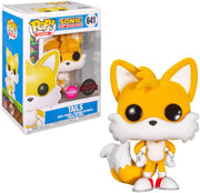 Pop Games Sonic The Hedgehog 3.75 Inch Action Figure Exclusive - Tails Flocked #641
