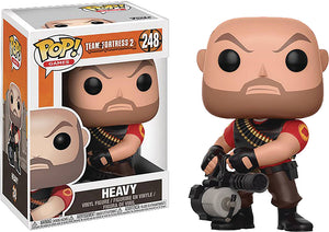 Pop Games Team Fortress 2 3.75 Inch Action Figure - Heavy #248