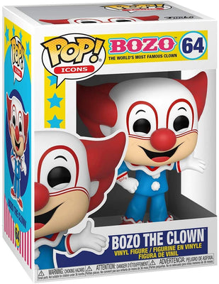 Pop Icons Bozo 3.75 Inch Action Figure - Bozo The Clown #64