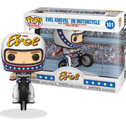 Pop Icons Evel 3.75 Inch Action Figure - Evel Knievel On Motorcycle #101