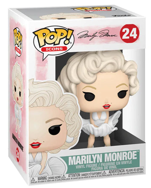 Pop Icons 3.75 Inch Action Figure Marilyn Monroe - Marilyn Monroe #24