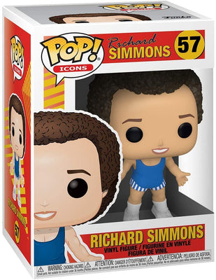 Pop Icons Richard Simmons 3.75 Inch Action Figure - Richard Simmons #57