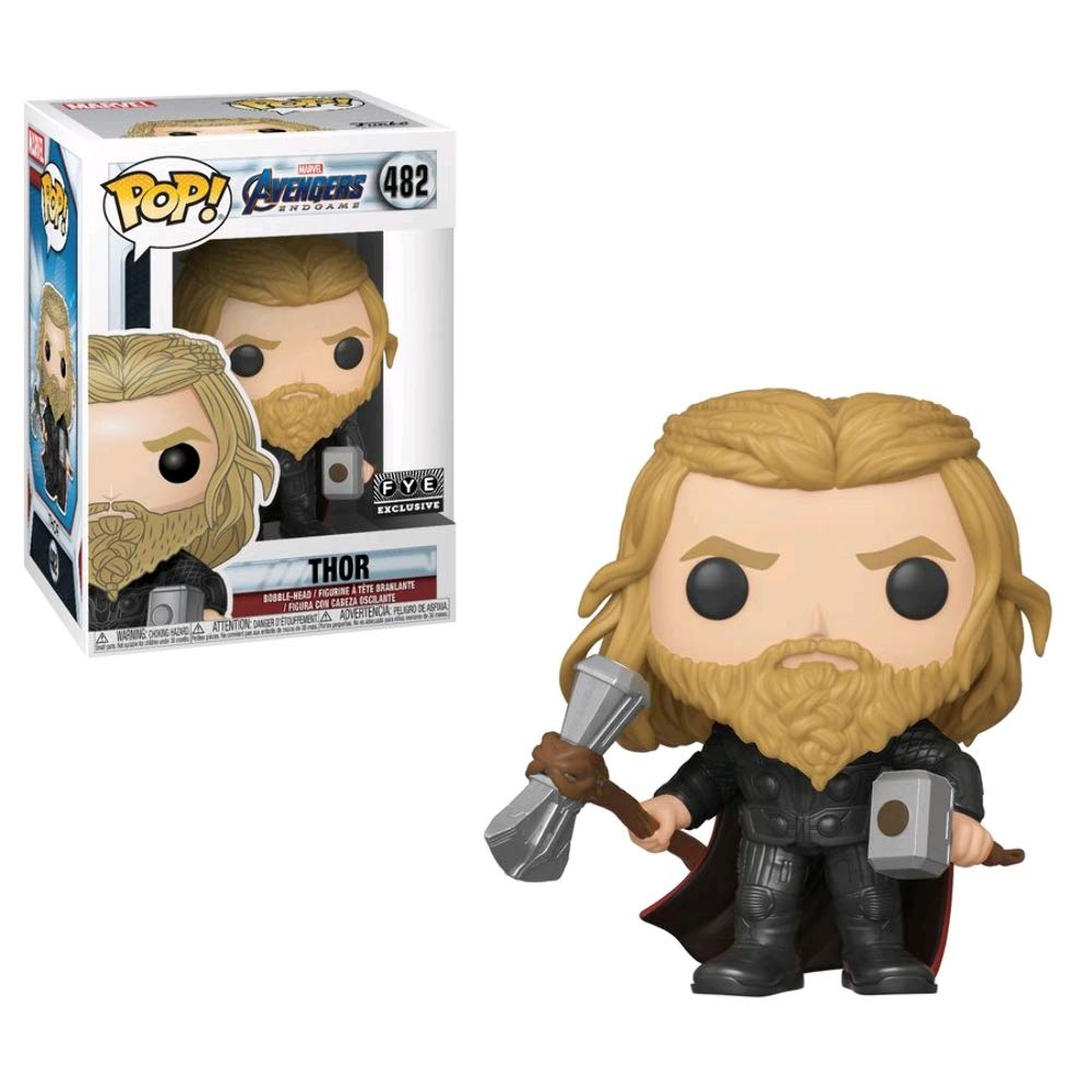 Pop Marvel 3.75 Inch Action Figure Avengers Endgame - Thor with Both Hammers