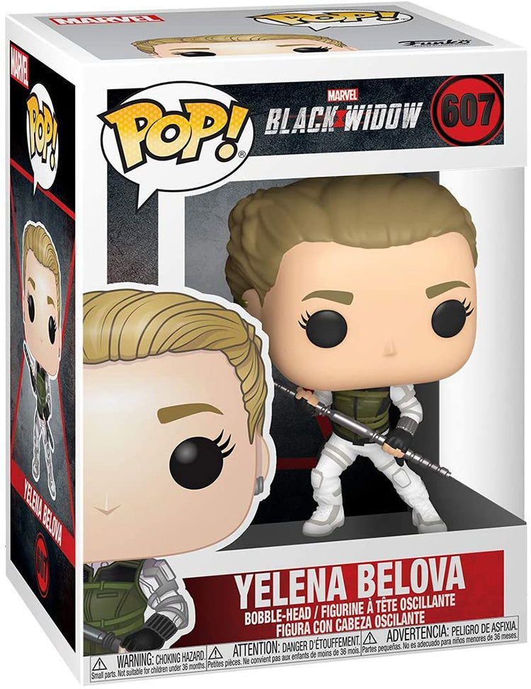 Pop Marvel 3.75 Inch Action Figure Black Widow - Yelena Belova #607