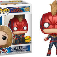 Pop Marvel 3.75 Inch Action Figure Captain Marvel - Captain Marvel #425 Chase