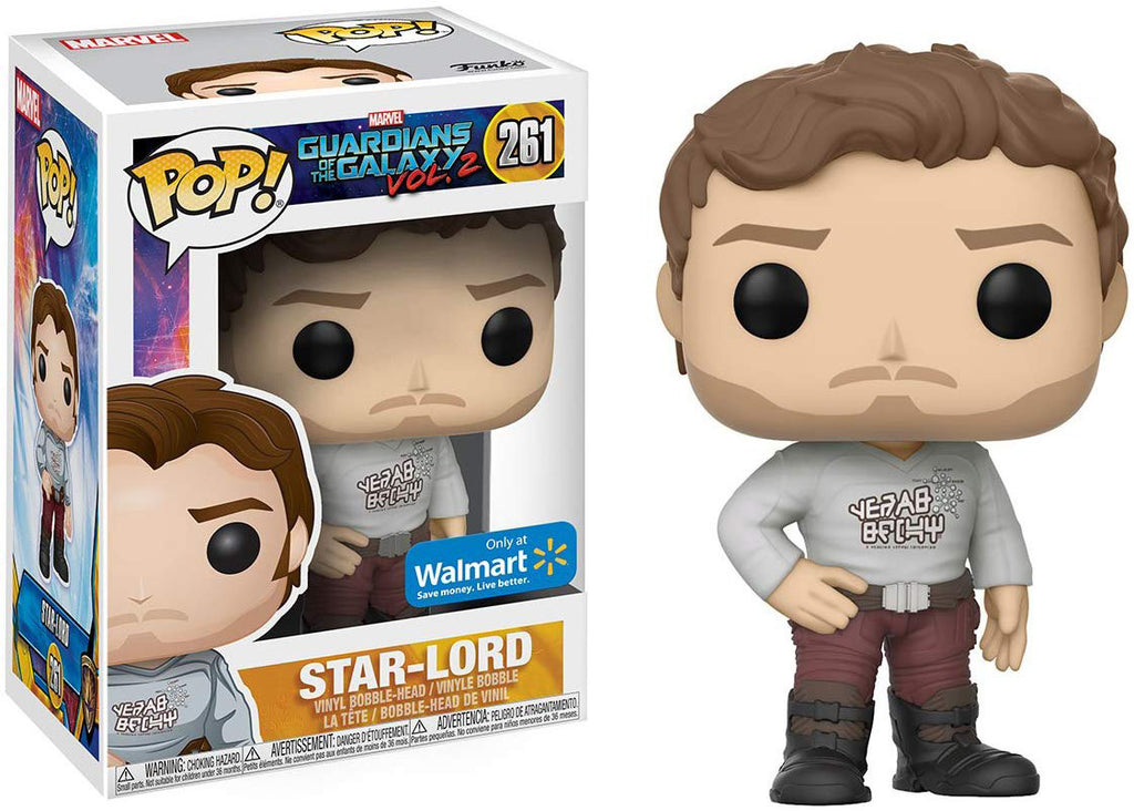 Pop Marvel 3.75 Inch Action Figure Guardian Of The Galaxy - Star-Lord #261 Exclusive