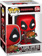 Pop Marvel 3.75 Inch Action Figure Marvel Holiday - Deadpool Supper Hero