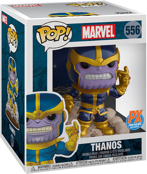 Pop Marvel 3.75 Inch Action Figure PX - Thanos #556 Exclusive