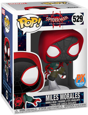 Pop Marvel 3.75 Inch Action Figure Spider-Man Into The Spiderverse - Miles Morales #529 Exclusive