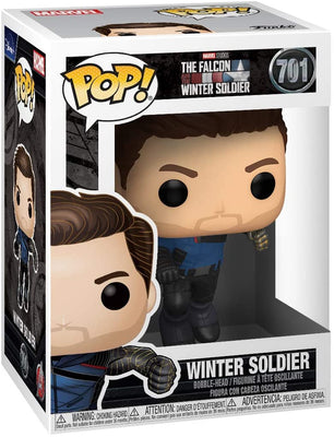 Pop Marvel The Falcon and The Winter Soldier 3.75 Inch Action Figure - Winter Solder #701