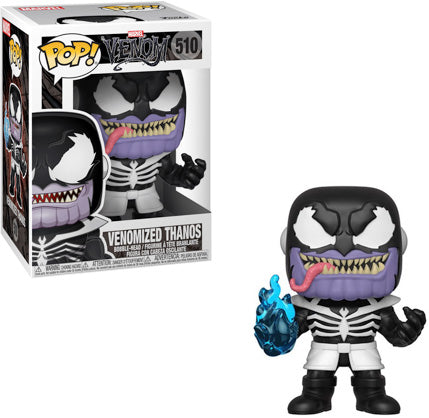 Pop Marvel 3.75 Inch Action Figure Venom - Venomized Thanos #510