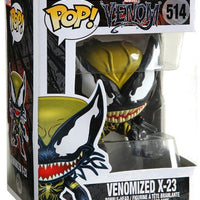 Pop Marvel 3.75 Inch Action Figure Venom - Venomized X-23 #514