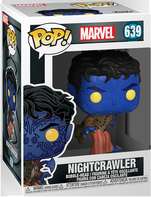 Pop Marvel X-Men 3.75 Inch Action Figure - Nightcrawler #639