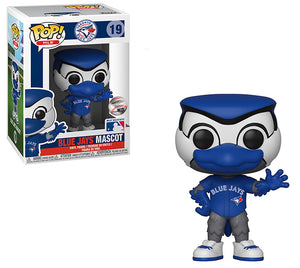 Pop MLB 3.75 Inch Action Figure Toronto Blue Jays - Blue Jays Mascot #19