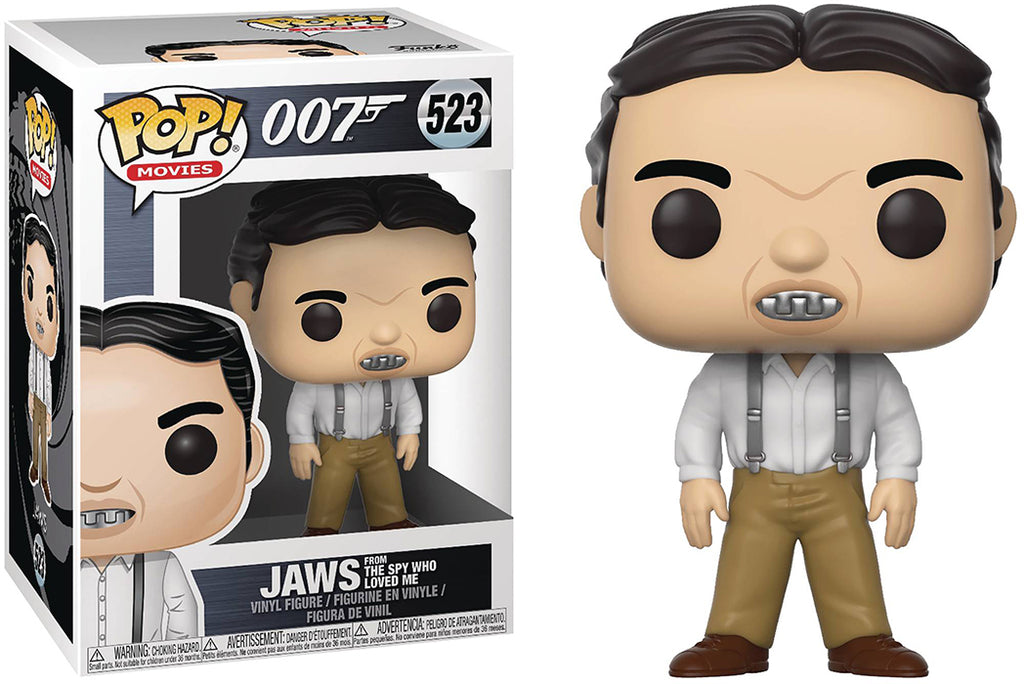 Pop Movies 007 3.75 Inch Action Figure - Jaws from The Spy Who Loved Me #523