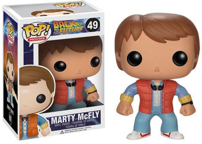 Pop Movies 3.75 Inch Action Figure Back To The Future - Marty McFly #49