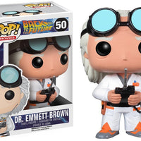 Pop Movies 3.75 Inch Action Figure Back To The Future - Dr. Emmett Brown #50