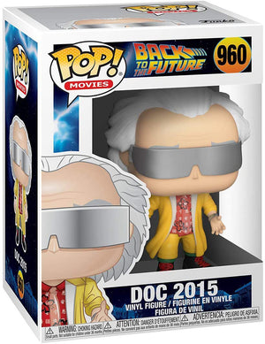 Pop Movies Back To The Future 3.75 Inch Action Figure - Doc 2015 #960