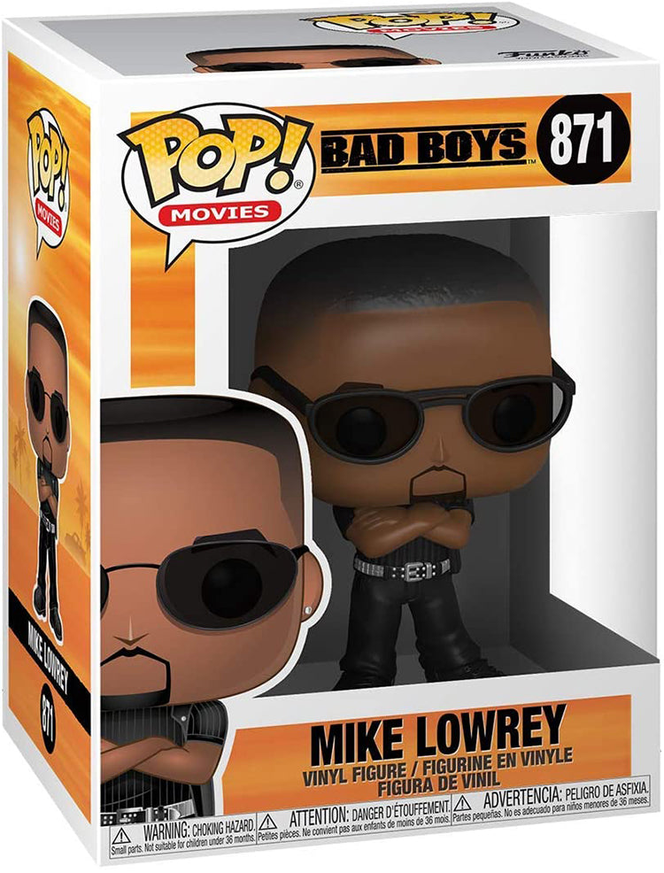 Pop Movies 3.75 Inch Action Figure Bad Boys - Mike Lowrey #871