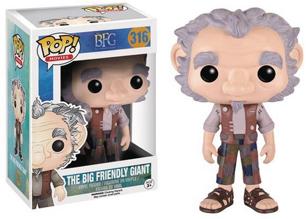 Pop Movies BFG 3.75 Inch Action Figure - The Big Friendly Giant #316