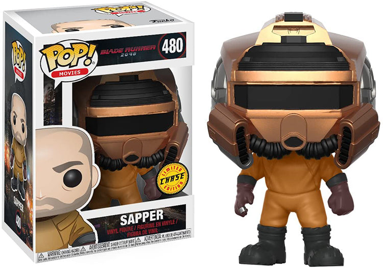 Pop Movies 3.75 Inch Action Figure Blade Runner - Sapper #480 Chase