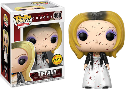 Pop Movies 3.75 Inch Action Figure Bride Of Chucky - Tiffany #468 Chase