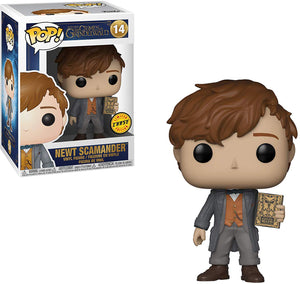 Pop Movies 3.75 Inch Action Figure Fantastic Beasts 2 - Newt Scamander #14 Chase
