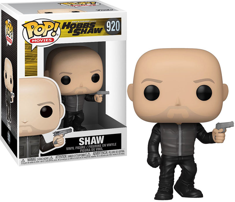 Pop Movies Fast & Furious Hobbs & Shaw 3.75 Inch Action Figure - Shaw #920