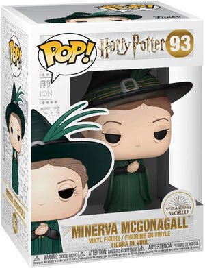 Pop Movies 3.75 Inch Action Figure Harry Potter - Minerva McGonagall Yule #93