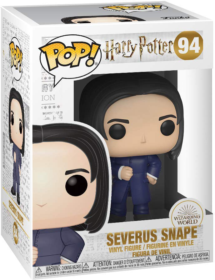 Pop Movies 3.75 Inch Action Figure Harry Potter - Severus Snape Yule #94