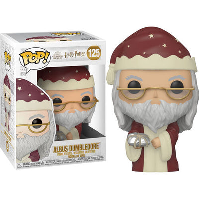 Pop Movies Harry Potter 3.75 Inch Action Figure - Holiday Dumbledore #125