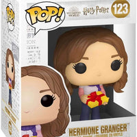Pop Movies Harry Potter 3.75 Inch Action Figure - Holiday Hermione Granger #123