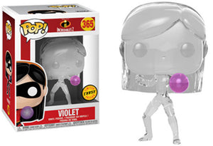 Pop Movies 3.75 Inch Action Figure Incredibles 2 - Violet #365 Chase