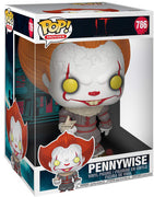 Pop Movies 10 Inch Action Figure IT - Pennywise with Paper Boat #786