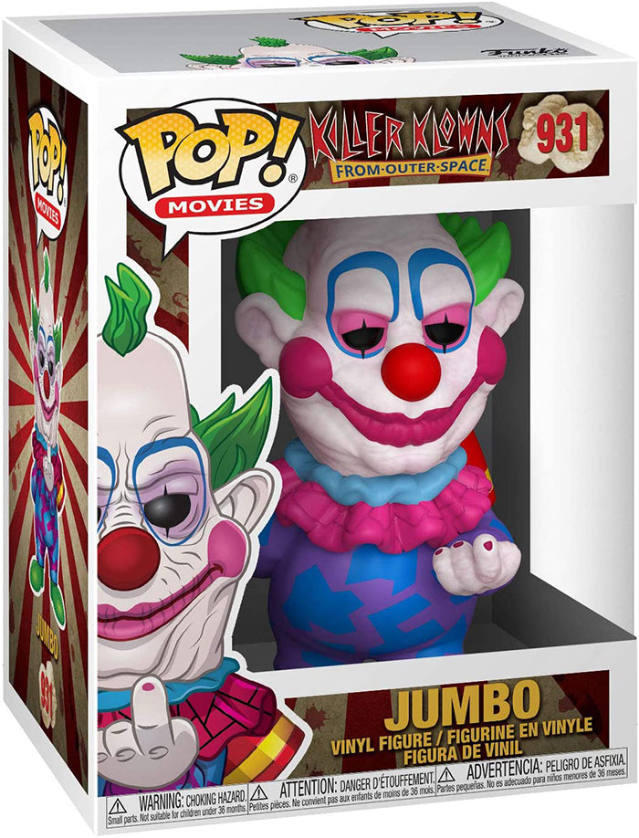 Pop Movies Killer Klowns From Outer Space 3.75 Inch Action Figure - Jumbo #931