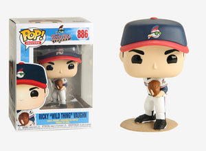 Pop Movies 3.75 Inch Action Figure Major League - Ricky Wild Thing Vaughn #886